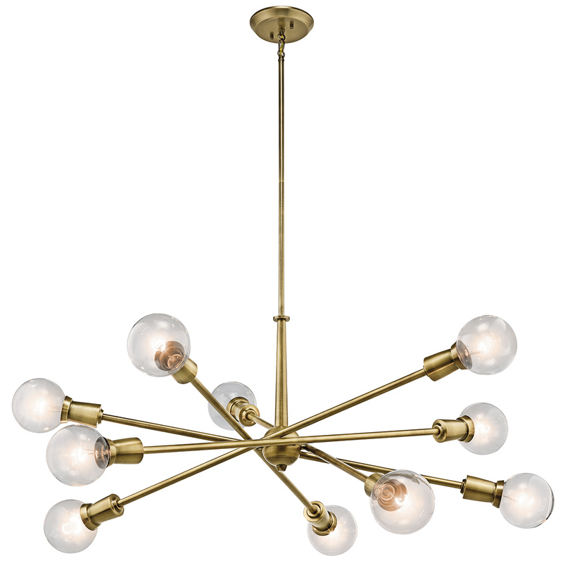 Kichlers Armstrong Collection Includes An Eight Light Pendant And A 10